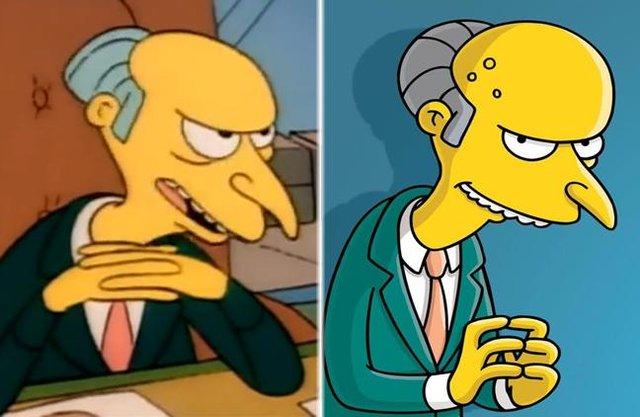 Як змінилися герої улюбленого мультика Сімпсони: тоді і зараз - фото 334012
