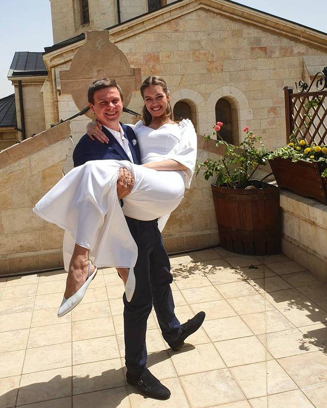 Дмитро Комаров одружився з Олександрою Кучеренко - фото 334737