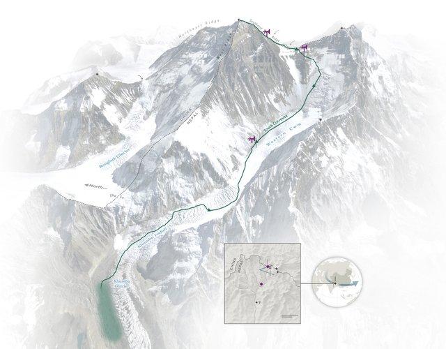 На Евересті встановили найвищу у світі метеостанцію - фото 334823
