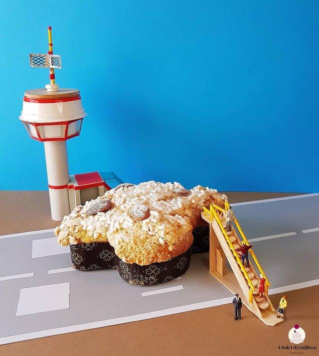 Кондитер перетворює десерти в мініатюрні світи: смачні знімки - фото 334955