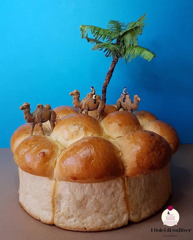 Кондитер перетворює десерти в мініатюрні світи: смачні знімки - фото 334958