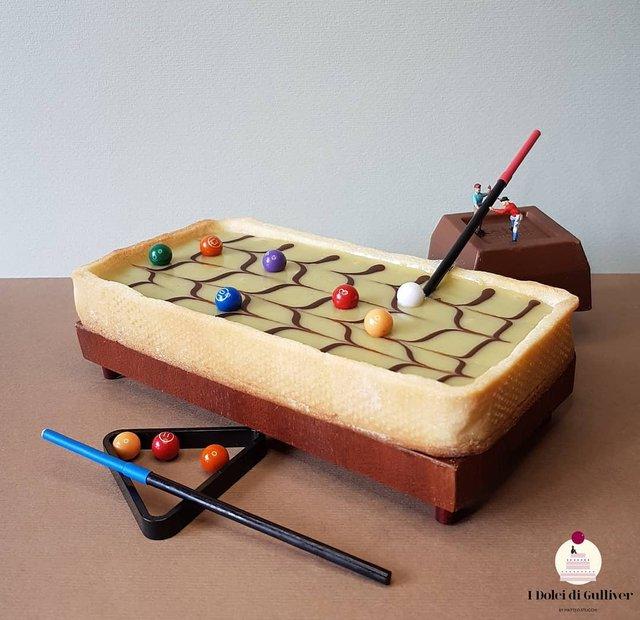 Кондитер перетворює десерти в мініатюрні світи: смачні знімки - фото 334959