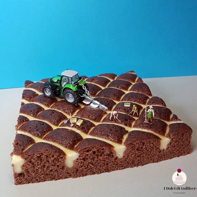 Кондитер перетворює десерти в мініатюрні світи: смачні знімки - фото 334960