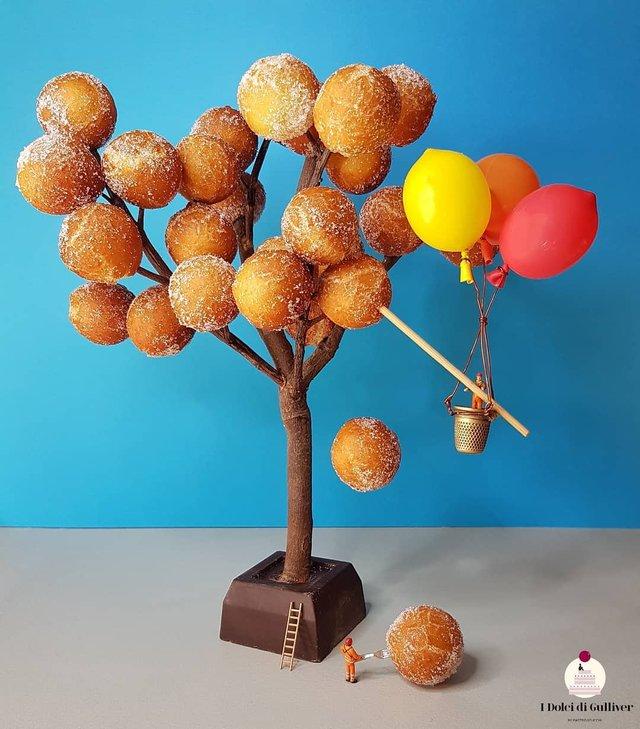 Кондитер перетворює десерти в мініатюрні світи: смачні знімки - фото 334962