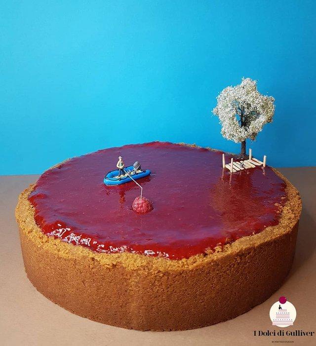 Кондитер перетворює десерти в мініатюрні світи: смачні знімки - фото 334963