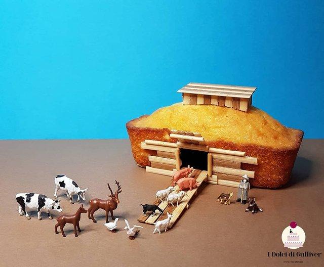 Кондитер перетворює десерти в мініатюрні світи: смачні знімки - фото 334966