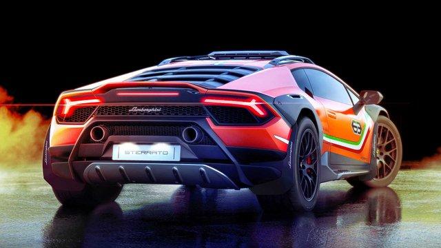 Позашляховий Lamborghini Huracan Sterrato стане серійним автомобілем - фото 334974