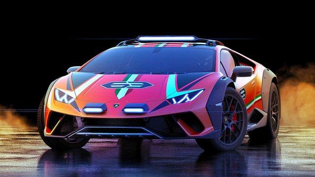 Позашляховий Lamborghini Huracan Sterrato стане серійним автомобілем - фото 334975