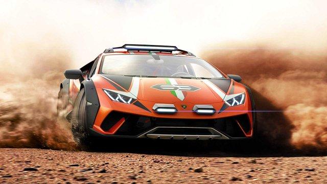 Позашляховий Lamborghini Huracan Sterrato стане серійним автомобілем - фото 334977