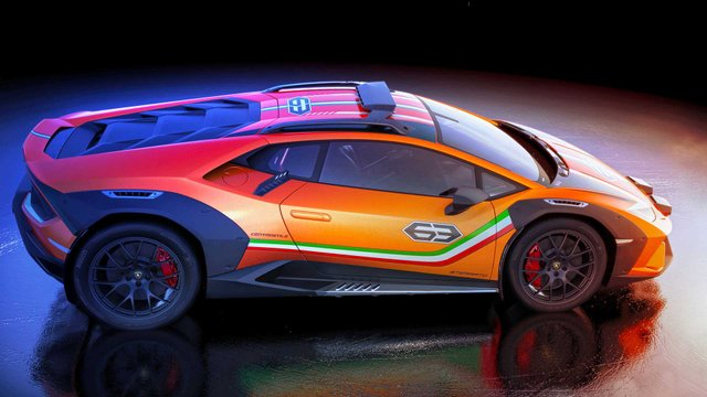 Позашляховий Lamborghini Huracan Sterrato стане серійним автомобілем - фото 334978
