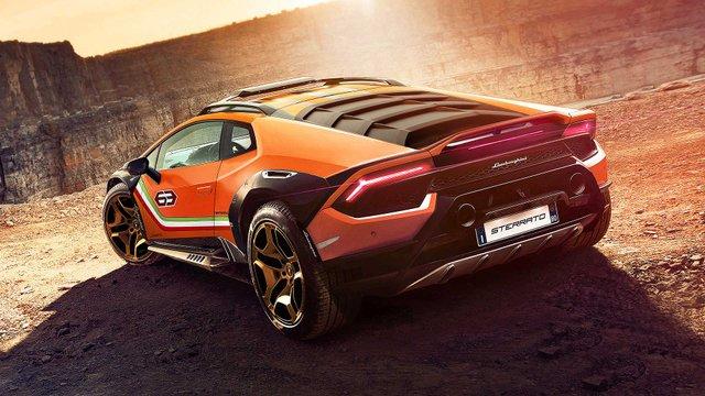 Позашляховий Lamborghini Huracan Sterrato стане серійним автомобілем - фото 334979