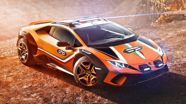 Позашляховий Lamborghini Huracan Sterrato стане серійним автомобілем - фото 334980