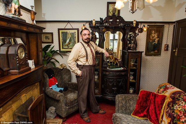 Британець трансформував свою квартиру у стилі 1930-х років - фото 335858