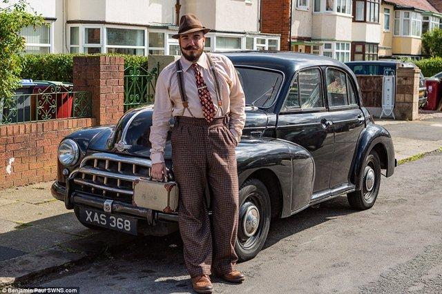 Британець трансформував свою квартиру у стилі 1930-х років - фото 335861