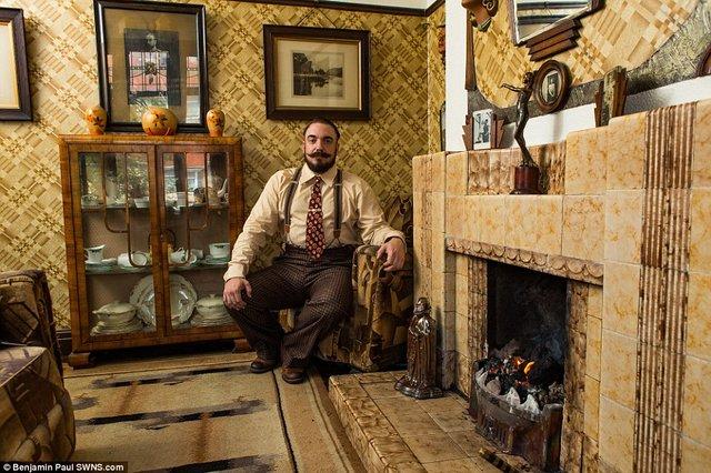 Британець трансформував свою квартиру у стилі 1930-х років - фото 335862