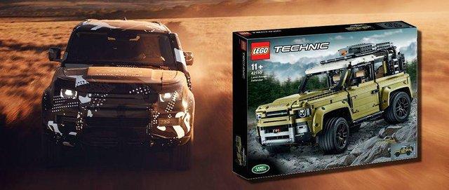 Зовнішній вигляд нового Land Rover Defender розкрили в наборі Lego - фото 336144
