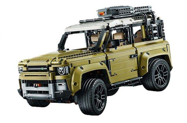 Зовнішній вигляд нового Land Rover Defender розкрили в наборі Lego - фото 336145