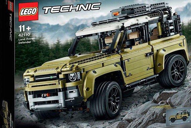 Зовнішній вигляд нового Land Rover Defender розкрили в наборі Lego - фото 336146