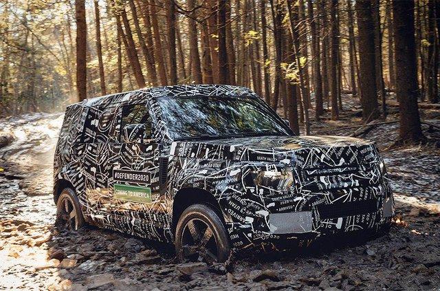 Зовнішній вигляд нового Land Rover Defender розкрили в наборі Lego - фото 336149