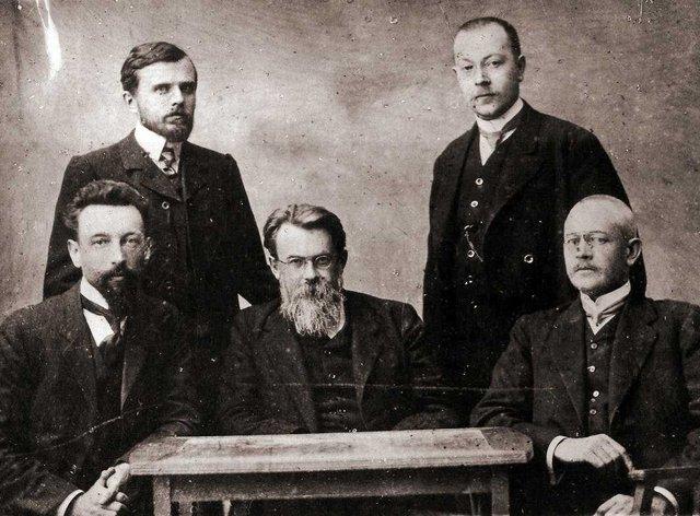 Вернадський і його асистенти, 1911 р. - фото 336438