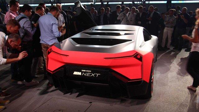 Vision M Next Concept. - фото 336480