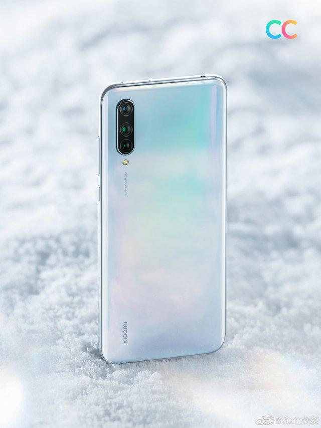 Романтичний білий: Xiaomi показала перше зображення смартфона Mi CC9 - фото 336528