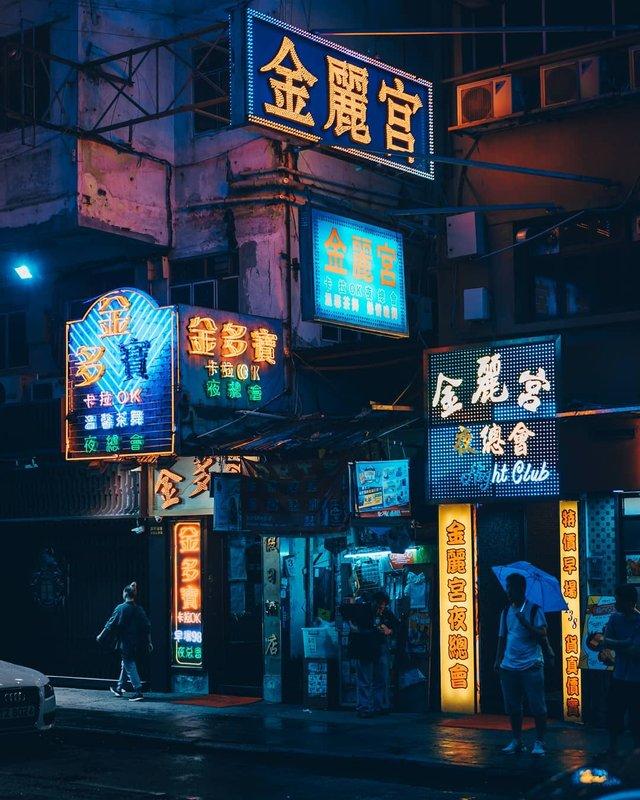 Нічна прогулянка Гонконгом, від якої важко відвести погляд: фото - фото 336551