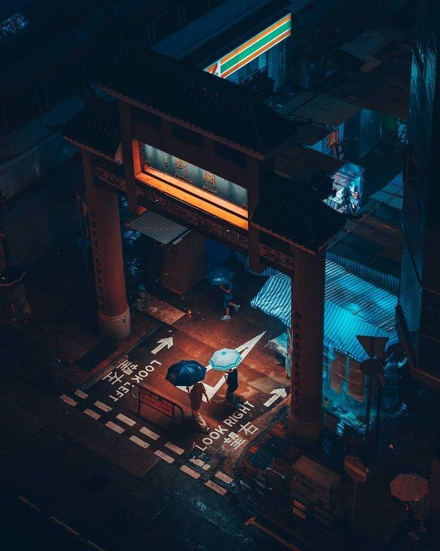 Нічна прогулянка Гонконгом, від якої важко відвести погляд: фото - фото 336556