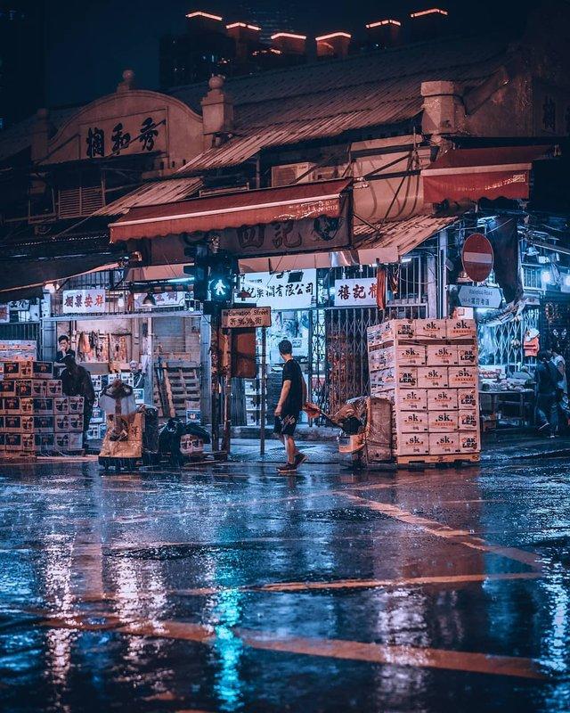 Нічна прогулянка Гонконгом, від якої важко відвести погляд: фото - фото 336557