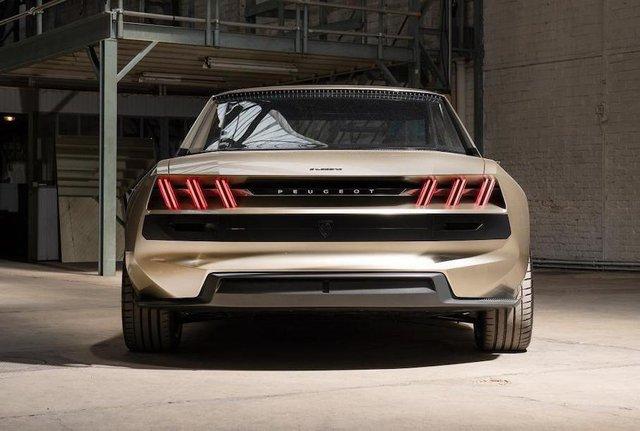 Peugeot пообіцяла випустити ретрокупе e-Legend за однієї умови - фото 336614