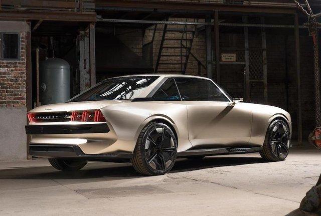 Peugeot пообіцяла випустити ретрокупе e-Legend за однієї умови - фото 336615