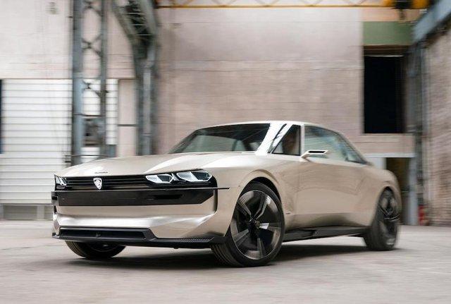 Peugeot пообіцяла випустити ретрокупе e-Legend за однієї умови - фото 336616
