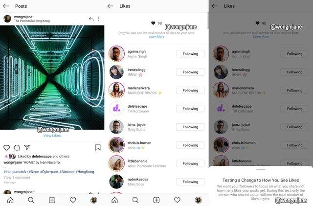 В Instagram зникне лічильник лайків - фото 336771