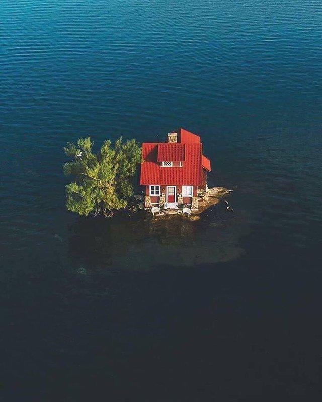 Як виглядає один з найменших островів у світі: атмосферні фото - фото 336932
