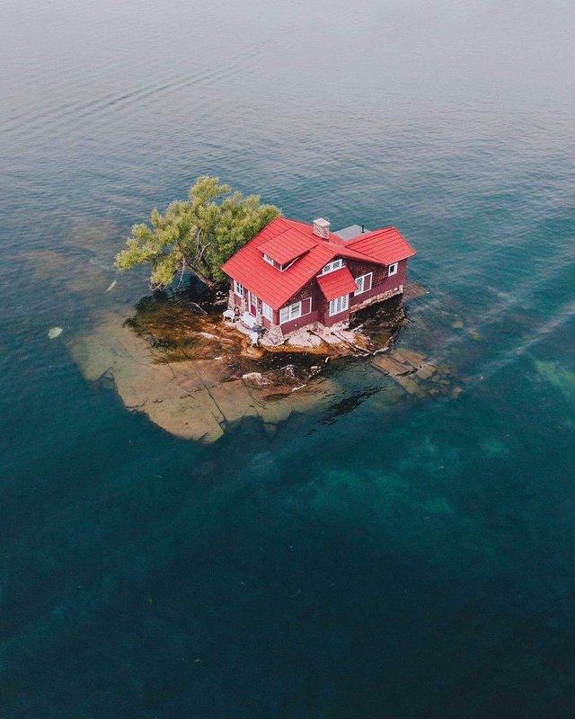 Так виглядає найменший населений острів світу - фото 337369