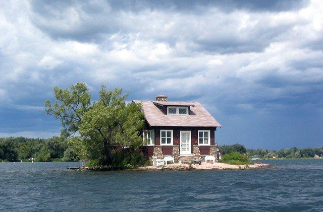 Так виглядає найменший населений острів світу - фото 337370