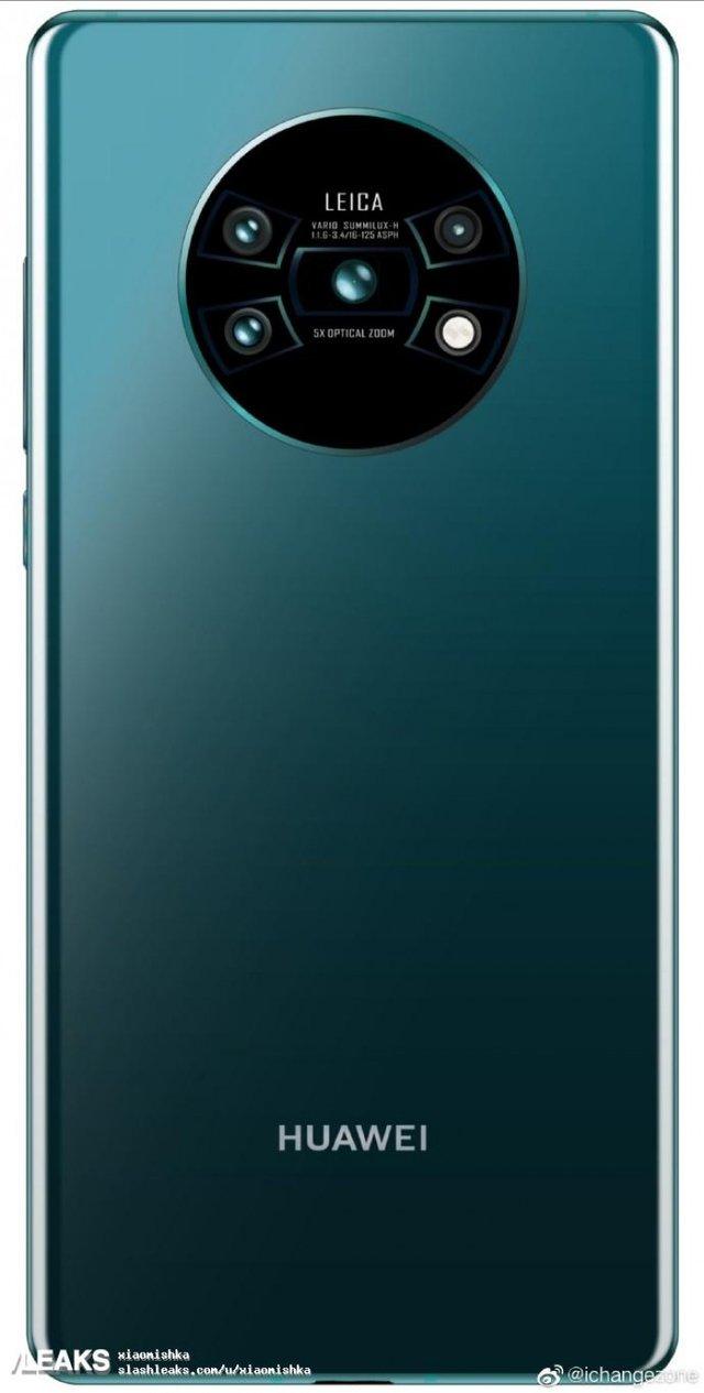 Huawei Mate 30 Pro: новий флагман  показали на першому фото - фото 338240