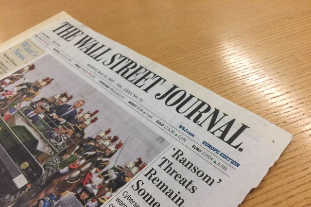 The Wall Street Journal  - фото 338790