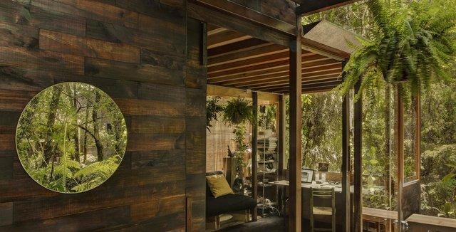 Наодинці з природою: як виглядає дерев'яний дім у горах Мехіко - фото 338840