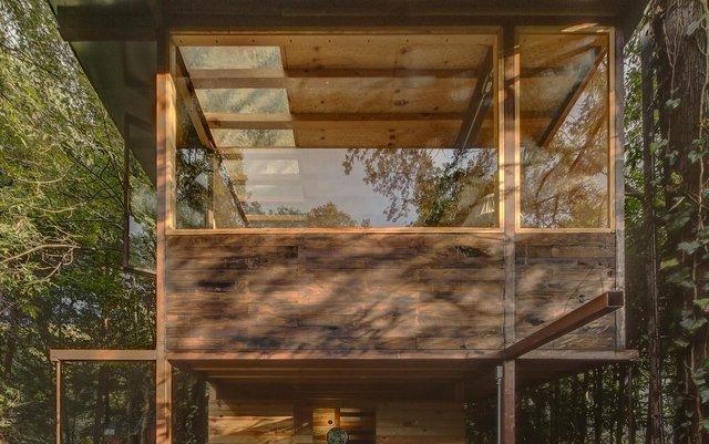 Наодинці з природою: як виглядає дерев'яний дім у горах Мехіко - фото 338842
