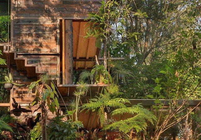 Наодинці з природою: як виглядає дерев'яний дім у горах Мехіко - фото 338843