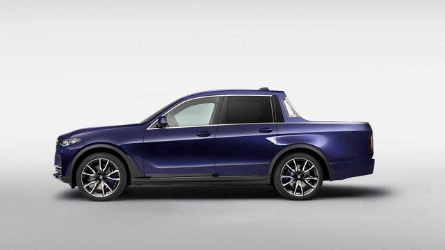 BMW X7: компанія показала гігантський і потужний пікап - фото 339010