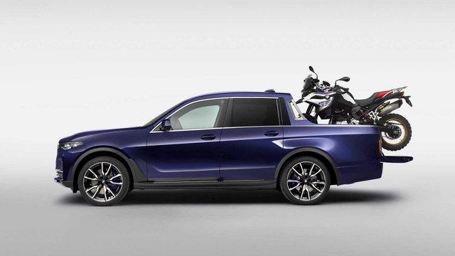 BMW X7: компанія показала гігантський і потужний пікап - фото 339011