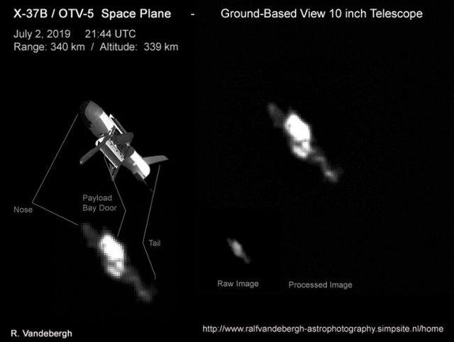 Орбітальний літак X-37B - фото 339175