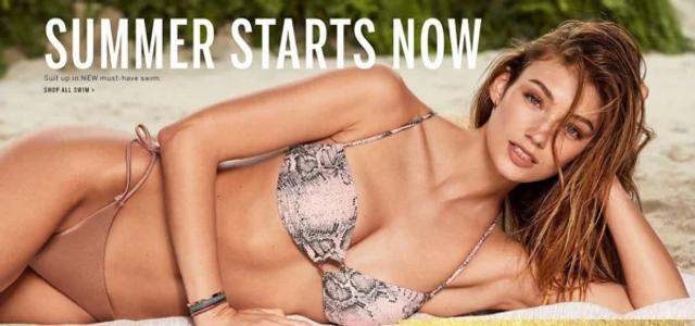 Сексуальні ангели Victoria's Secret в рекламі нових купальників - фото 339381