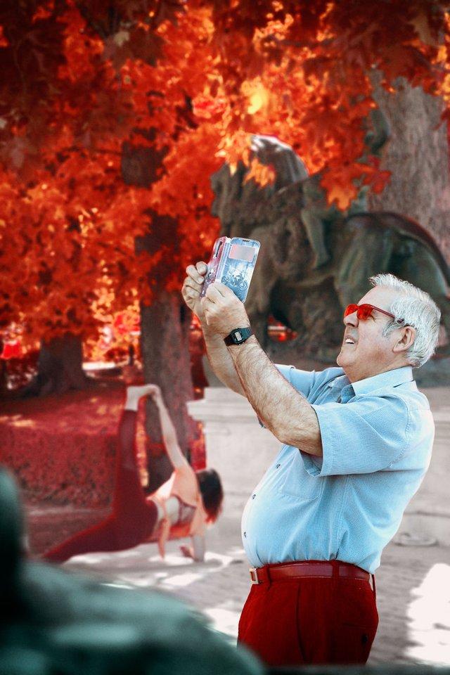 Француз показав інфрачервоний Мадрид: вражаючі фото - фото 339579