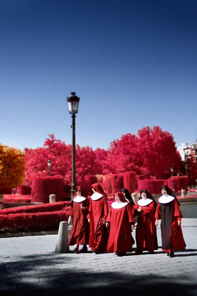 Француз показав інфрачервоний Мадрид: вражаючі фото - фото 339580