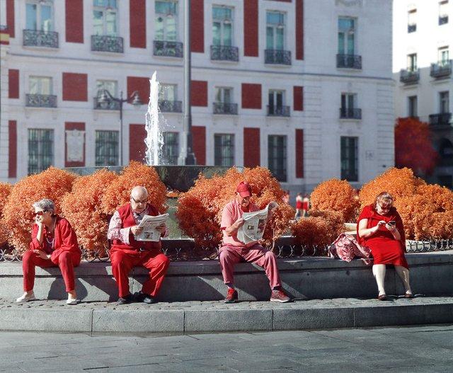 Француз показав інфрачервоний Мадрид: вражаючі фото - фото 339582