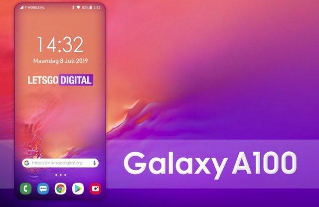 Samsung Galaxy A100 отримає безрамковий екран нового покоління - фото 339745