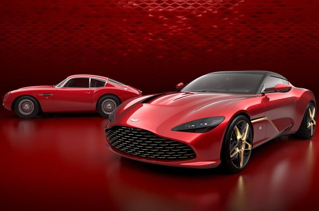 Aston Martin показав фінальний дизайн колекційного DBS GT Zagato - фото 339777